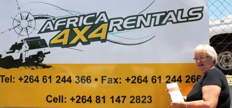Africa 4x4 rental pix