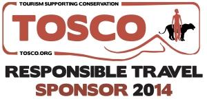 TOSCO responsible travel sponsor 2014