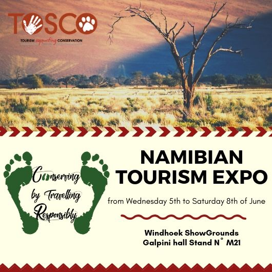 Namibian Tourism Expo 2019 TOSCO Trust invitation